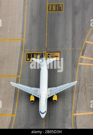 Aeroport de Palma, 09.01.2020, aerial photo, Spain, Balearic Islands, Majorca, Palma - Stock Photo