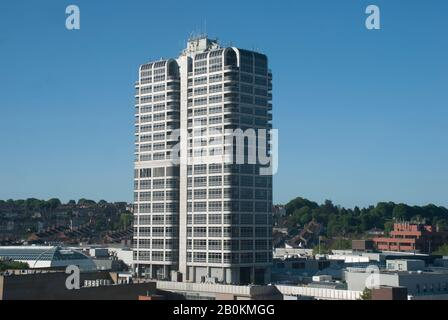 The David Murray John building, the centrepiece of the Swindon skyline. - Stock Photo
