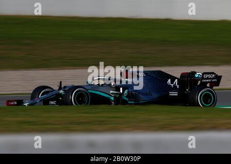 #44 Lewis Hamilton Mercedes AMG Team F1. Formula 1 World championship 2020, Winter testing days #1 2020 Barcelona, 19-21 February 2020.Photo Federico Stock Photo