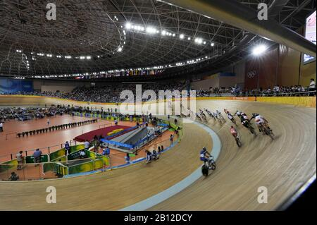 Beijing, CHINA.   Cycling, . Laosham Velodrome, Tuesday - 19/08/2008, [Mandatory Credit: Peter SPURRIER, Intersport Images] - Stock Photo