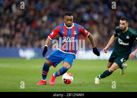 Selhurst Park, London, UK. 22nd Feb, 2020. English Premier League Football, Crystal Palace versus Newcastle United; Jordan Ayew of Crystal Palace Credit: Action Plus Sports/Alamy Live News - Stock Photo