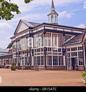 Victorian Building in Pavillion Gardens Buxton