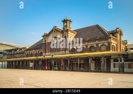 Former Taichung Station at taichung, taiwan - Stock Photo