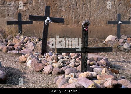 San Jose de Tumacacori cemetery, Tumacacori National Historical Park, Arizona