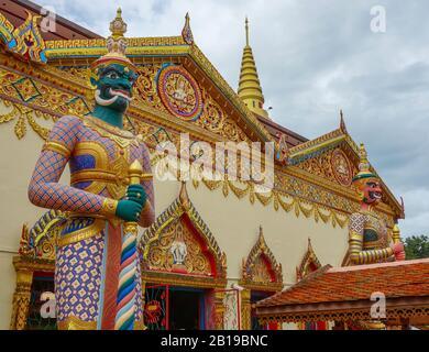 Penang, Malaysia. 02nd Dec, 2019. Wat Chaiya Mangalaram Thai Buddhist Temple. Credit: Damian Gollnisch/dpa-Zentralbild/ZB/dpa/Alamy Live News - Stock Photo