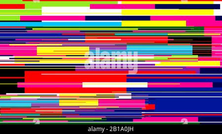 Speed color background, glitch pattern, abstract horizontal lines