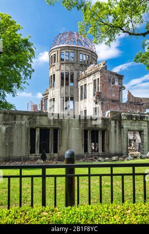 Hiroshima Japan. Hiroshima Peace Memorial (Genbaku Dome) - Stock Photo