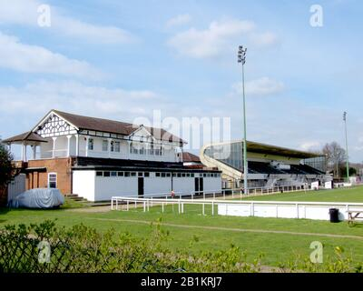Richmond Athletic Ground, London, England. Location of Wetherby School sports day attended by HRH Princess Diana and Prince Charles. Stock Photo