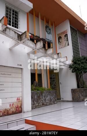 Museo de la Palabra y la Imagen or Museum of Word and Image in San Salvador, El Salvador - Stock Photo