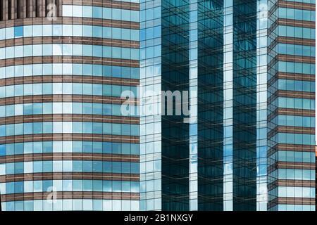high rise apartments in the city. Brisbane Australia