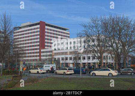 Deutschlandhaus, Europahaus, Stresemannstrasse, Kreuzberg, Berlin, Deutschland - Stock Photo