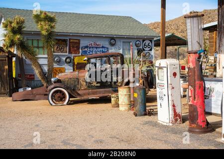 Hackberry General Stores, 1255 AZ-66, Kingman, AZ 86411, USA - Stock Photo