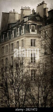 Apartments along Quai de Bourbon Paris France
