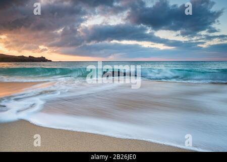 Porthmeor beach St Ives, Cornwall, surfing beach, artistic Cornwall, Cornwall colours, sea, sand, rocks, surfing, holiday destination, Uk travel,