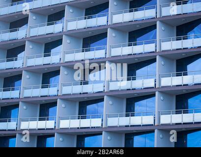 New Construction Apartments And Housing. - Stock Photo
