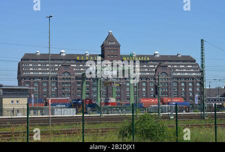 Lagerhaus, Behala, Westhafen, Moabit, Berlin, Deutschland - Stock Photo