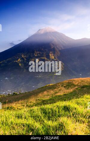 Tungurahua Is An Active Strato Volcano Located In The Cordillera Central Of Ecuador The Volcano Gives Its Name To The Province Of Tungurahua
