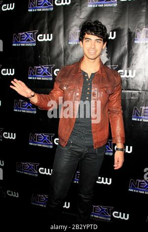 August 5, 2012, Los Angeles, CA, USA: LOS ANGELES - AUG 8:  Joe Jonas at the CW ''The Next'' After Party at the Perch on August 8, 2012 in Los Angeles, CA (Credit Image: © Kay Blake/ZUMA Wire) - Stock Photo