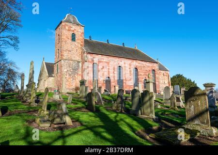 Prestonkirk Parish Church East Linton in East Lothian, Scotland, United Kingdom Stock Photo