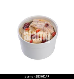 herb soup or chinese chicken herb soup new - Stock Photo