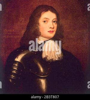 WILLIAM PENN (1644-1718) English-born writer and Quaker who founded the Province of Pennsylvania - Stock Photo