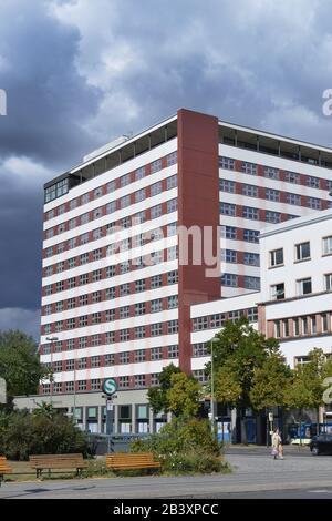 Europahaus, Stresemannstrasse, Kreuzberg, Berlin, Deutschland - Stock Photo