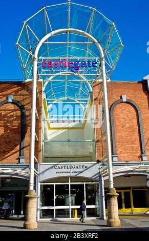 Castlegate Centre, High Street, Stockton on Tees, Cleveland, England - Stock Photo