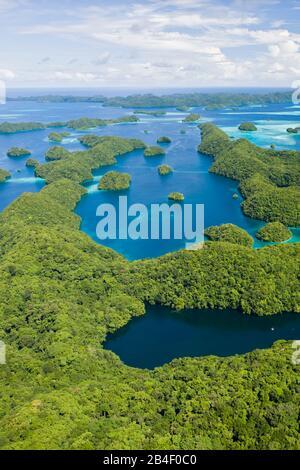Rock Islands of Palau, Pacific, Micronesia, Palau