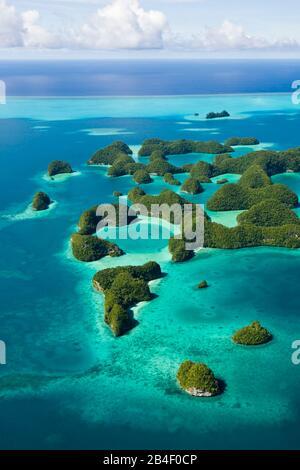 Seventy Islands of Palau, Pacific, Micronesia, Palau