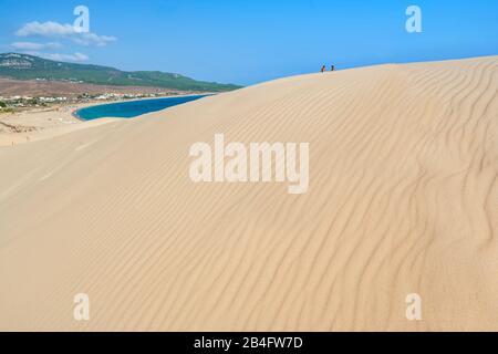 Bolonia Beach, Bolonia, Cadiz Province, Costa de la Luz, Andalusia, Spain - Stock Photo