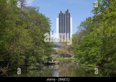 Radisson Blu Hotel and Old Botanical Garden, Hamburg, Germany, Europe