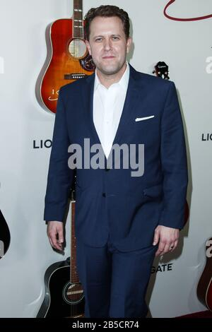 Hollywood, United States. 07th Mar, 2020. HOLLYWOOD, LOS ANGELES, CALIFORNIA, USA - MARCH 07: Jon Erwin arrives at the Los Angeles Premiere Of Lionsgate's 'I Still Believe' held at ArcLight Cinemas Hollywood on March 7, 2020 in Hollywood, Los Angeles, California, United States. (Photo by Xavier Collin/Image Press Agency) Credit: Image Press Agency/Alamy Live News - Stock Photo