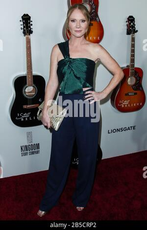 Hollywood, United States. 07th Mar, 2020. HOLLYWOOD, LOS ANGELES, CALIFORNIA, USA - MARCH 07: Tara Buck arrives at the Los Angeles Premiere Of Lionsgate's 'I Still Believe' held at ArcLight Cinemas Hollywood on March 7, 2020 in Hollywood, Los Angeles, California, United States. (Photo by Xavier Collin/Image Press Agency) Credit: Image Press Agency/Alamy Live News - Stock Photo