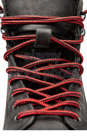 Boot Laces - Stock Photo