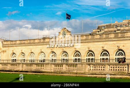 Air France company office building in Esplanade des Invalides, Paris, France