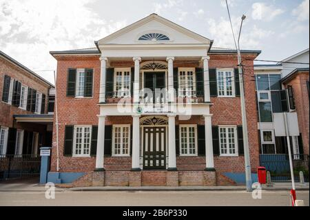 Ministry of Natural Resources, Paramaribo, Suriname - Stock Photo
