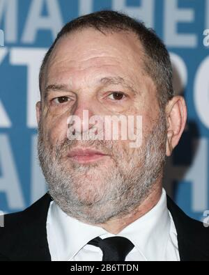 (FILE) 11th Mar 2020. Harvey Weinstein Sentenced to 23 Years in Prison. Harvey Weinstein will spend 23 years in a New York State prison after being sentenced by Supreme Court Judge James Burke on the morning of Wednesday, March 11, 2020. In pic: MOUNTAIN VIEW, SANTA CLARA, CALIFORNIA, USA - DECEMBER 04: Harvey Weinstein arrives at the 2017 Breakthrough Prize held at NASA Ames Research Center on December 4, 2016 in Mountain View, Santa Clara, California, United States. Credit: Image Press Agency/Alamy Live News - Stock Photo