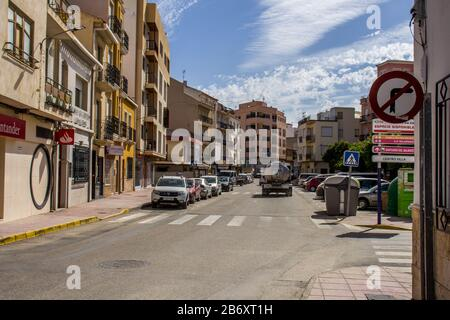 Albox a Small Rural Town in Andalucia Spain
