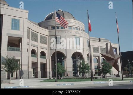 Austin, Texas: Bullock Texas History Museum was opened in 2001. ©Bob Daemmrich / - Stock Photo