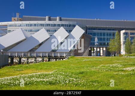 Polaria Museum, Tromso City, Troms County, Norway, Scandinavia - Stock Photo