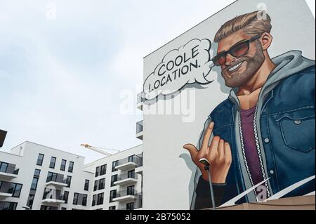 10.06.2019, Berlin, Germany, Europe - New residential buildings of Adler Real Estate along Heidestrasse in the Europacity in Berlin-Moabit. [automated translation]