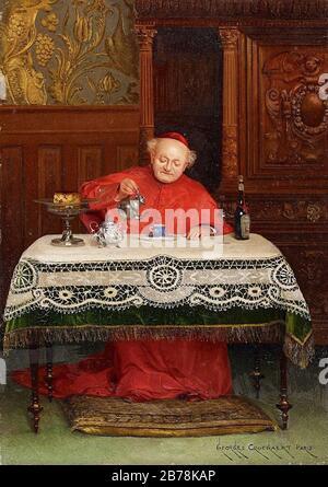 Georges Croegaert Der Kardinal. - Stock Photo