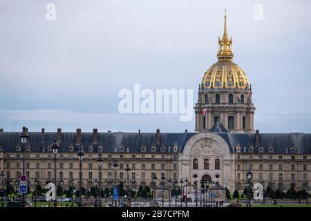 Hotel des Invalides in Paris, France, Europe