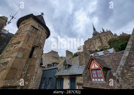 Mont Saint-Michel, Normandy, France, Europe