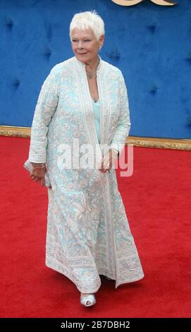 Sep 05, 2017 - London, England, UK - Victoria & Abdul UK Premiere, Odeon Leicester Square - Red Carpet Arrivals Photo Shows: Dame Judi Dench - Stock Photo