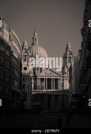 The Christmas of St. Paul's Cathedral, London,  England, UK (2019)