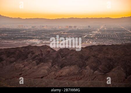 Views of Las Vegas, USA and the surrounding area. Credit: Charlie Raven/Alamy