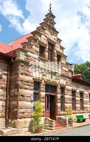 Entrance to Heidelberg Heritage Museum, Voortrekker Street, Heidelberg, Gauteng Province, Republic of South Africa