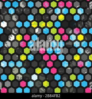 Abstract cells seamless texture - Stock Photo
