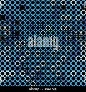 abstract grunge blue seamless - Stock Photo